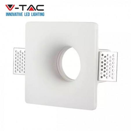 Portafaretto Led V-tac sku 3674 da incasso quadrato GU10 GU5.3
